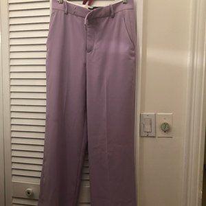 Zara Women purple  pants, side pockets, M